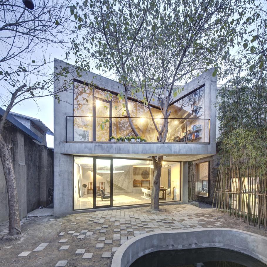 Contemporary Tea House Shanghai 01 Modhouse