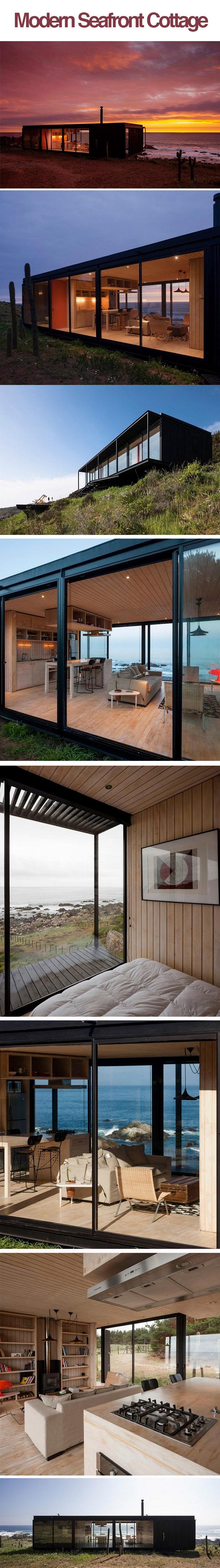 modern seaside cottage updated